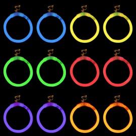 Pendientes Luminosos Redondos (2 uds)