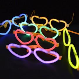 Gafas Luminosas Corazón a Granel (50 uds)