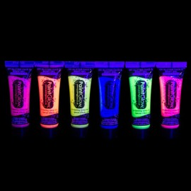 Pintura Neon Uv con Purpurina 10 ml