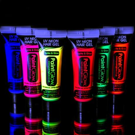 Gel Fluorescente para Cabello