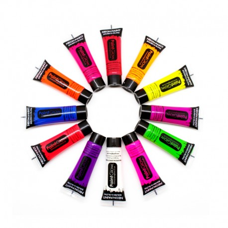 Pintura Neon Uv Corporal 10 ml
