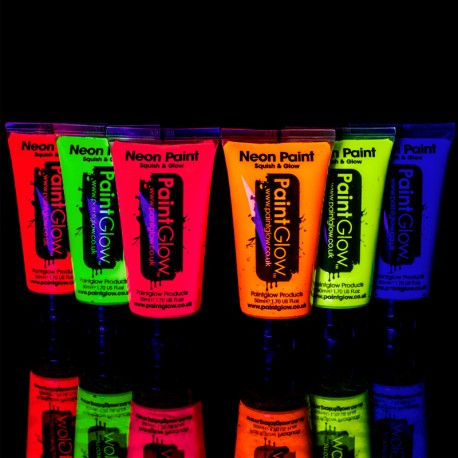 Pintura Neon Uv Corporal 50 ml