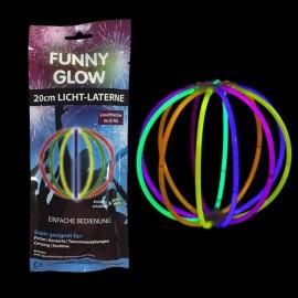 Esfera Fluorescente Unicolor Individual (1 ud)