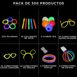 Fiestas Luminosas 300 productos