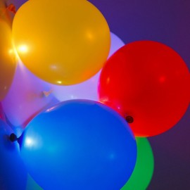 Globos Led Luminosos (5 uds)