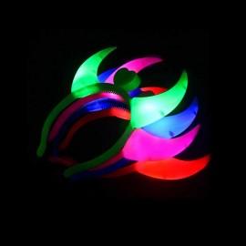 Cuernos Led con Luz