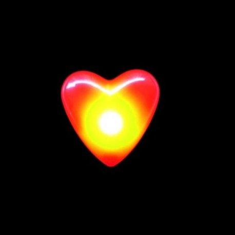 Pin Luminoso Corazón Led
