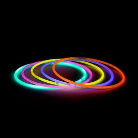 Collares Luminosos Unicolor (50 uds)